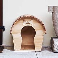 Caseta para perro Casa outdoor para perros tamaño pequeño, novedad Blitzen, DogVoyeur mm,