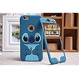 Lilo & Stitch Disney iPhone 4/5/6y Samsung placa delantera y trasera cubierta de la caja, Apple iPhone 6