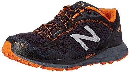 New Balance - - - uomo 910V2 profilo scarpe. (nero/arancione)