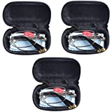 3 PRS Southern Seas Mens Womens Folding Reading & Travel +2.00 Glasses w Case 16 Strengths Available