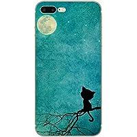Custodia iPhone 7 Plus, Yoowei® Divertente Motivo Design Colorato Cristallo Trasparente Ultra Sottile Morbido TPU Gel Case Cover per iPhone 7 Plus 5.5