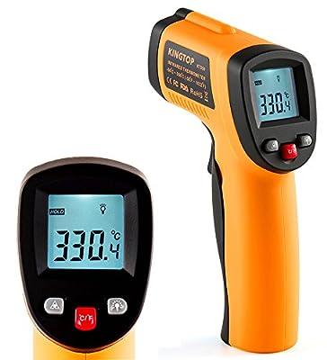 Laser Infrarot Thermometer Kingtop Digital Bratenthermometer -50°C~550°C