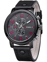 Sunday Domingo Hombres Calientes Deportes Cuarzo Relojes Para Hombres Cuero  De Lujo Wristwatches Relojes Deportivos Hombre Sunday… ab20f0a1fbea