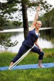 SISSEL 162061, Cintura Yoga Unisex - Adulto, Bianco, 300 x 4 x 4 cm