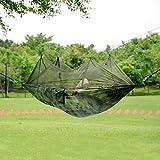 Earlybird Savings 245 * 135 millimetri portatile ad alta resistenza paracadute tessuto Amaca appesa letto con zanzariera per il campeggio esterno di viaggio