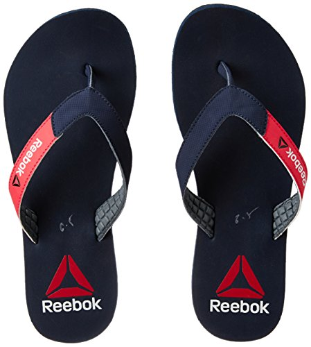 Reebok Women's Reebok Core Flip Col Navy, Blzng Pnk and Fl Gry Flip-Flops and House Slippers - Plastic Moulded - 4 UK/India (37 EU)(6.5 US)  available at amazon for Rs.489