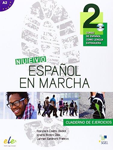 Nuevo Espanol en Marcha 2 : Exercises Book + CD