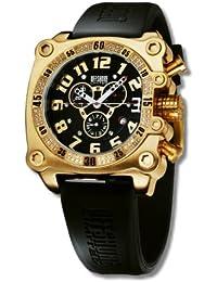 Offshore Limited Z Drive Prestige Collection 007 PR M - Reloj cronógrafo de cuarzo para hombre, correa de silicona color negro (cronómetro)