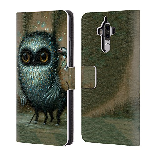 Head Case Designs Offizielle Jason Limon Jagd Aliens Brieftasche Handyhülle aus Leder für Huawei Mate 9