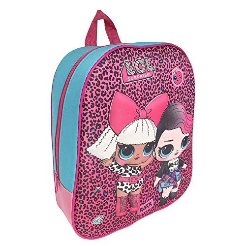 Zaino 3d lol surprise diva rocker dolls asilo borsa scuola cm.32 - ll0490