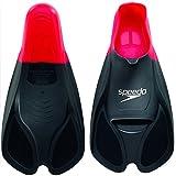 Speedo Unisex Biofuse Flossen, rot/schwarz, EU 39-41 (UK 6-7), 8-0884139916-7