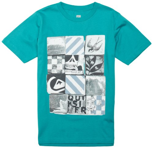 quiksilver-screenline-basic-t-shirt-a-manches-courtes-pour-homme-8-ans-turquoise-turquoise