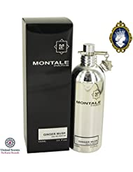 Montale Ginger Musk 100ml/3.4oz Eau De Parfum Spray Unisex EDP Perfume Fragrance
