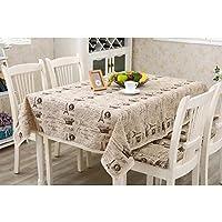 Togather® Universal corona imperiale cotone caffè decorativo Topper tavolo pic-nic o matrimonio tovaglia -