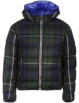 Colmar 95MD tartán chaqueta de invierno para hombre color azul/verde chaquetas abrigos Outerwear, azul/verde,...