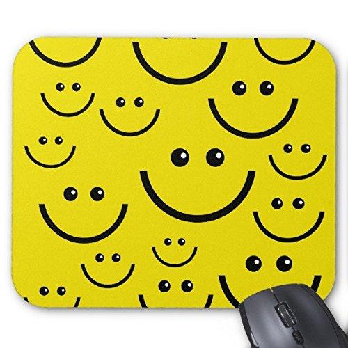 Rechteck rutschfeste Gummi Mousepads Smiley Smiley,. Maus Pad
