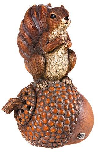 Paysage mélodies Chipper-Statuette d'écureuil