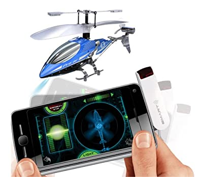 Silverlit SmartLink Sky Wizard 3-Channel Gyro Helicopter with I-R Transmitter (Colours vary) from Silverlit