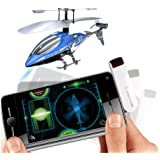Silverlit SmartLink Sky Wizard 3-Channel Gyro Helicopter with I-R Transmitter (Colours vary)