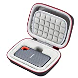 Hard Case for SanDisk 250GB / 500GB / 1TB / 2TB Extreme Portable SSD SDSSDE60, Carrying Storage Bag - Grey