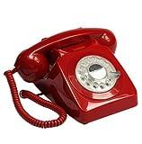 GPO 746 Rotary Telephone - Red