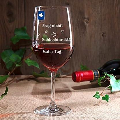 Leonardo-Weinglas-XL-610ml-Guter-Tag-Schlechter-Tag-Frag-nicht-Stimmungsglas-mit-lustiger-Gravur-Moodglas
