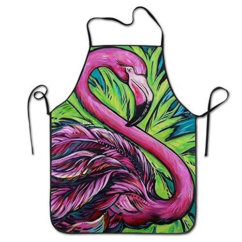 Jocper Flamingo-Vogel-Tier-Schutzbleche für Frauen/Männer Leichte Grill-Taillen-Haltung Lustiges Chef-Schutzblech -