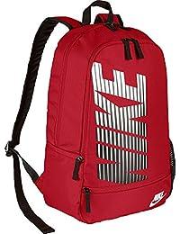 Nike Classic North - Mochila para hombre, color rojo, talla única