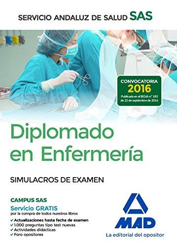 Diplomado en Enfermería del Servicio Andaluz de Salud. Simulacros de examen