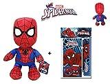 Spiderman: Peluche Spiderman 30 cm + Set scolaire MV92379...
