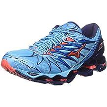 Mizuno Wave Prophecy 7 Wos, Chaussures de Running Femme, Bleu