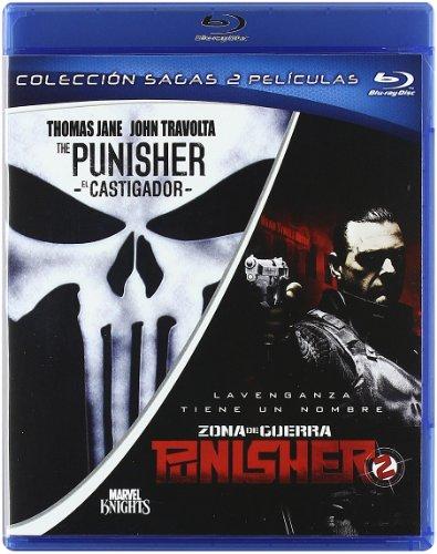 Pack The Punisher (El Castigador) + Punisher 2: Zona De Guerra [Blu-ray]