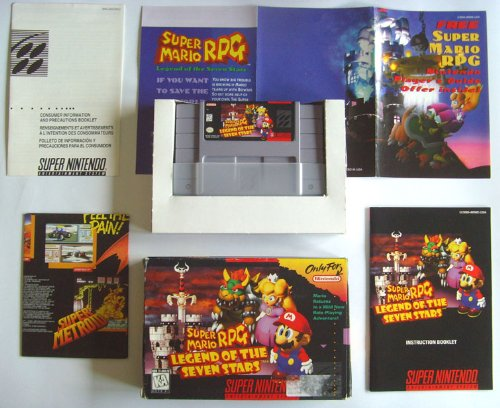 Super Mario RPG - Legend of the Seven Stars [US Import]