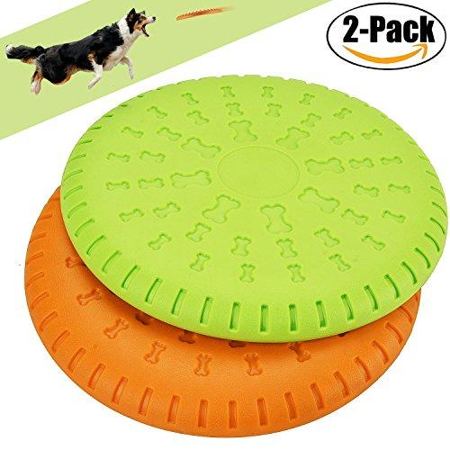 Legendog Cane giocattolo Migliore Cane giocattolo Cane Indistruttibile Disco Volante Materiale ABS Giocattoli Gonfiabili per Cani Giocattoli da Addestramento Denti per Cani