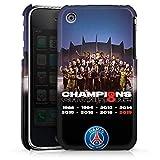 DeinDesign Coque Compatible avec Apple iPhone 3Gs Étui Housse Paris Saint-Germain Produit sous Licence Officielle PSG Champions