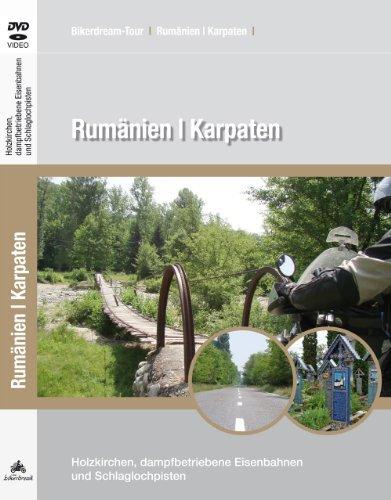 DVD: Motorradtour durch Rumänien / Karpaten / Video, GPS-Daten & Reisebericht als PDF