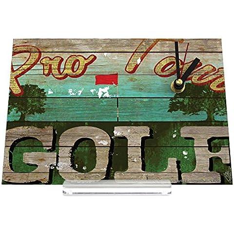 orologio dello scrittorio Retro Déco M.A. Allen Pro Tour Golf Decorativa