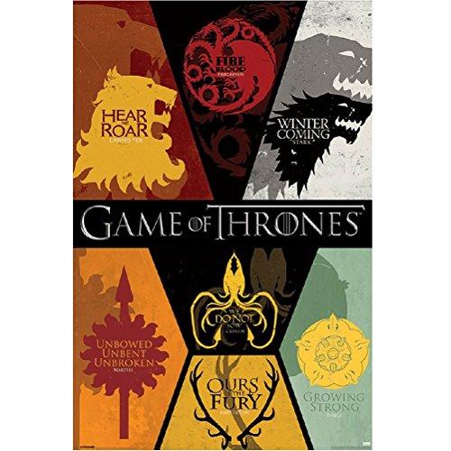 Game of Thrones Sigilis Poster (61 x91 cm)