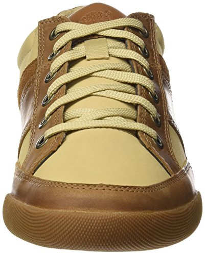 Timberland-Split-Cupsole-Mixed-Mediatrail-Saddleback-Full-Grain-Scarpe-Oxford-Uomo