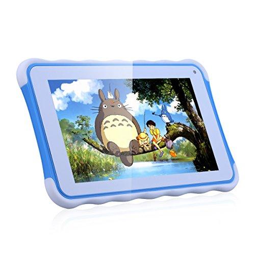 Excelvan Kinder Tablet 7 Zoll Android 4.4.4 Rockchip3126 Quad Core 8GB WIFI External 3G Eltern Modus und Kinder Modus Tablet PC Blau