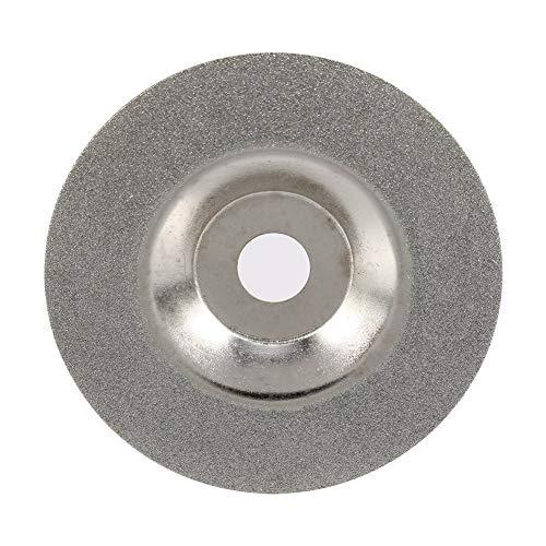 Emery Glas (4 Zoll Diamant Glas -Beschichtet Schleifscheibe Rundform Schleifer für Winkel Schneidscheibe 100x16x1mm DISC)