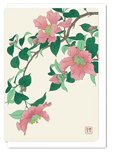 ezen-designs-flw051-a6-pink-camellia-japanese-greeting-card