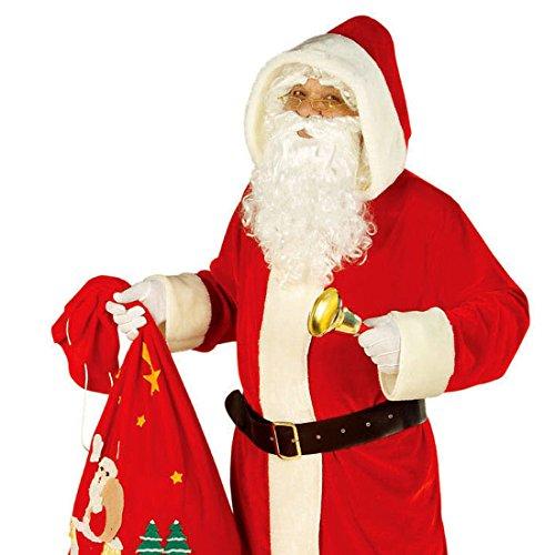 NET TOYS Kostüm Weihnachtsmann Nikolauskostüm Mantel Weihnachtsmannkostüm XL 54/56