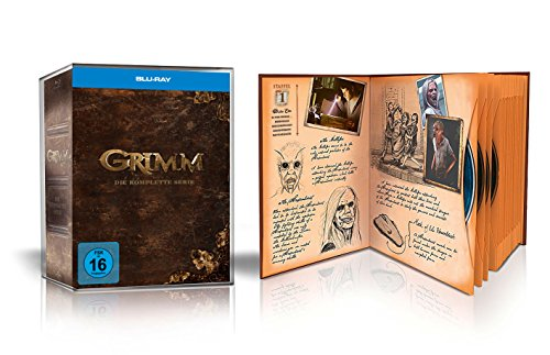 GRIMM – Die komplette Serie (Staffel 1-6) – Limited Märchenbuch-Edition [Blu-ray]