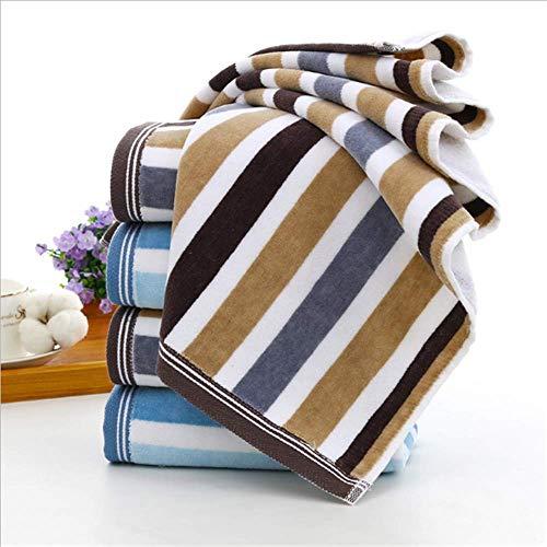 SHJIA Handtücher Bad Gesicht Handtuch Set Saugfähigen Gesunde Badezimmer für Erwachsene 75x34cm