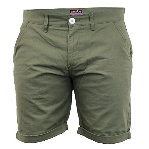 Herren Chino Shorts By Threadbare Khaki
