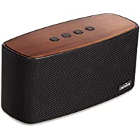 COMISO Altavoz Bluetooth Estéreos Premium 30W con Radiador Pasivo, Altavoz inalámbrico Portátil Subwoofer, 3D Sonido Digital con 20 Horas de Emisión Continua Manos Libre (Negro)