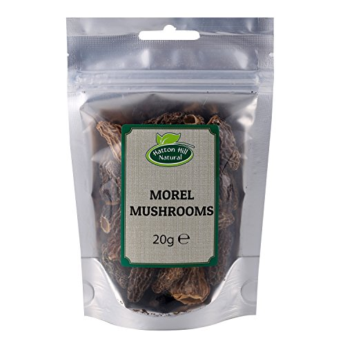 Dried Whole Morel Mushrooms 20g - A Premium Quality by Hatton Hill
