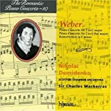 Romantic Piano Concerto, Vol. 10 - Weber: Piano Concerto No. 1 in C minor; Piano Concerto No. 2 in E flat major; Koncertstück in F minor Import Edition by Weber, C.M. Von (1995) Audio CD
