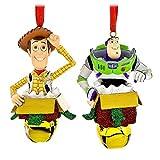 Disney Woody et Buzz l'Éclair figurine Ornement Ensemble